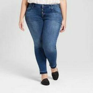 Nwt Target Universal Thread Plus Skinny Jeans 20w